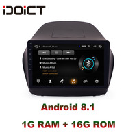 IDOICT Android 8.1 Car DVD Player GPS Navigation Multimedia For Hyundai ix35 Radio 2013 2017 car stereo car stereo