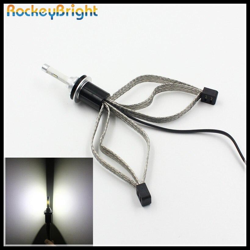 Rockeybright н11 светодиодные фары набор преобразования комплекты 30 Вт 9600lm Сид светодиодные лампы H11 для автомобиля Тойота светодиодные фары H11 светодиодные фары