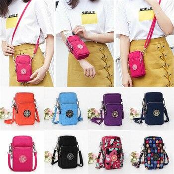 US New Cross-body Mobile Phone Shoulder Bag Pouch Case Belt Handbag Purse Wallet