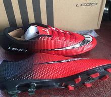 LEOCI новый мальчик дети для мужчин бутсы обувь Turf футбольные бутсы Жесткий суд открытый кроссовки спортивные спортивная обувь