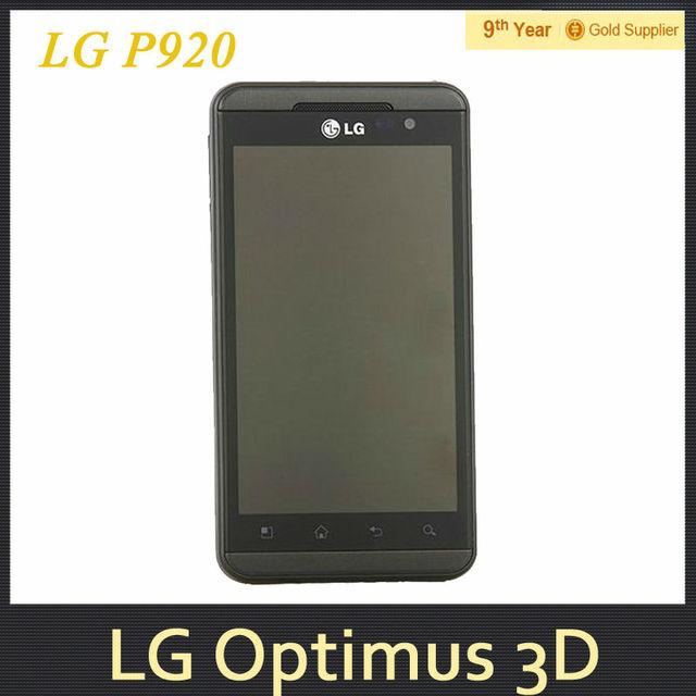 lg p920. free shipping lg optimus 3d p920 original unlocked cell phone 3g gps 5mp camera dual core lg