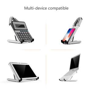 Image 3 - 11 to 15.6 inch Foldable Laptop Stand For Macbook Lenovo Dell Asus HP Portable Notebook Stand Holder Lapdesk Cooling Bracket