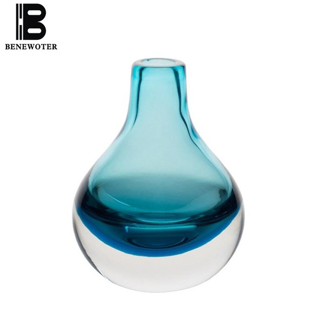 Aliexpress Buy Benewoter Hand Blown Art Solid Color Glass Bud