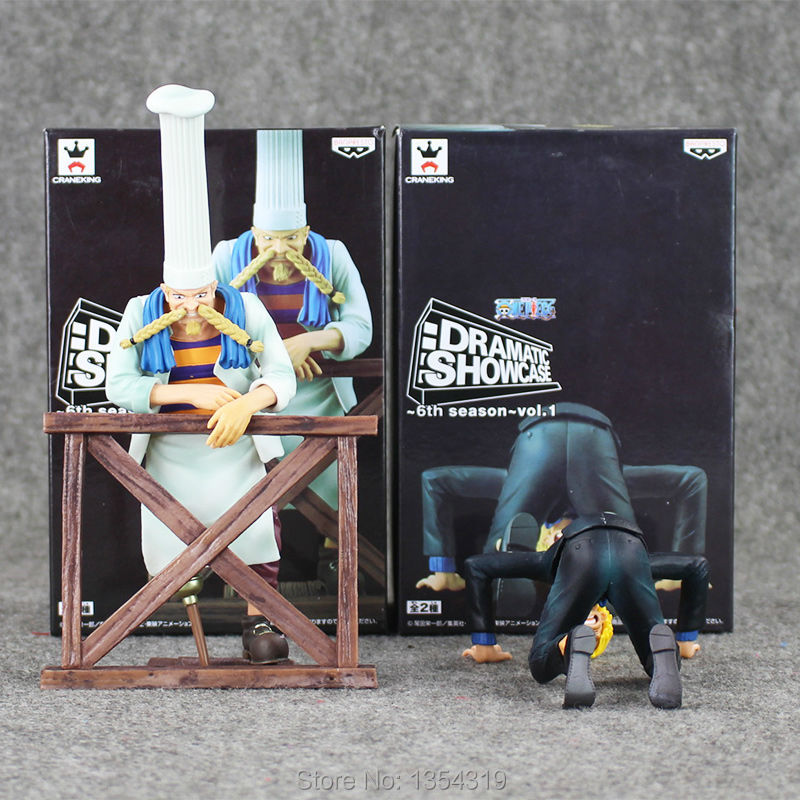 Anime one piece figure Sanji farewell Zeff scene pvc action figure sanji figure model toys doll collection gift juguetes hot