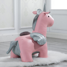 FREE SHIPPING U-BEST design animal shaped stool for kids, The newest pink children pony animal stool