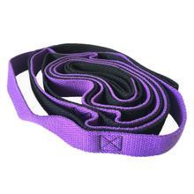 Эластичный ремень для занятий йогой, эластичный пояс для занятий фитнесом, фиолетовый, черный, синий, черный, эластичные спортивные инструменты