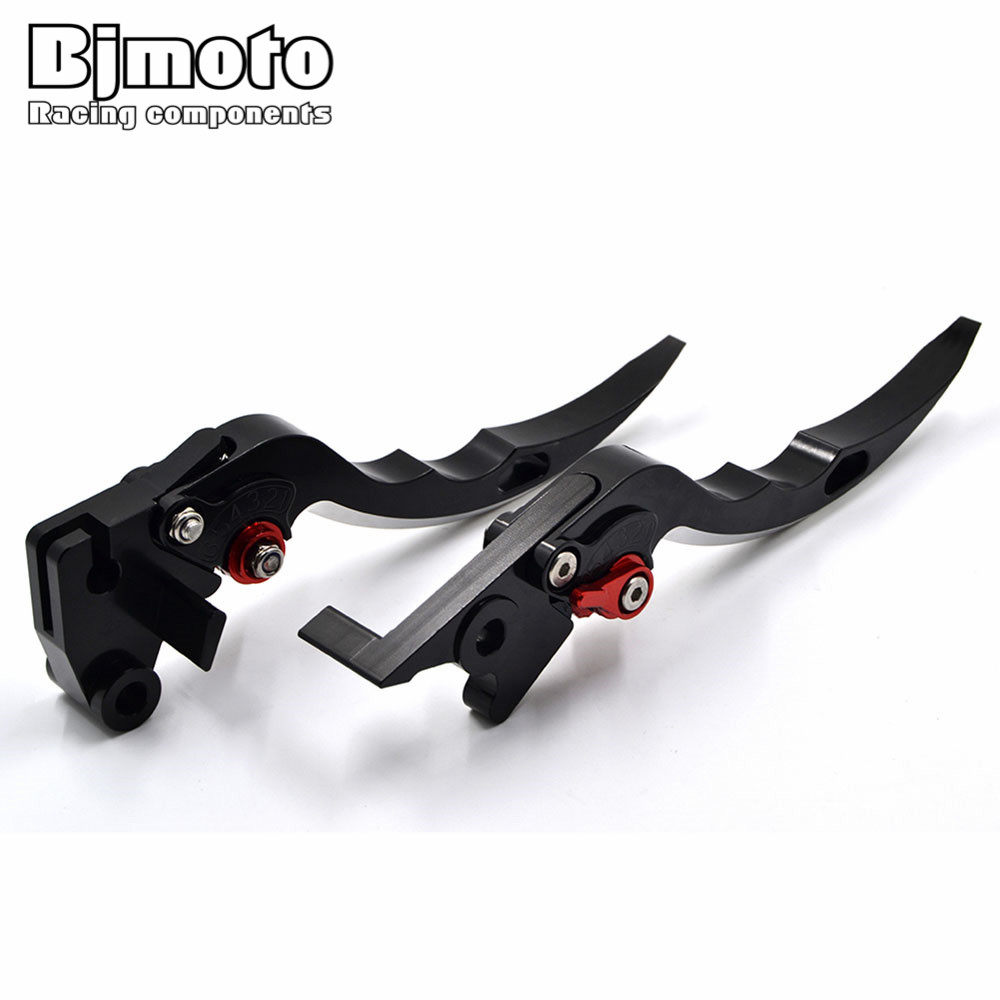BJMOTO Motorcycle Blade Brake Clutch Levers Motorbikes Brakes Lever For BMW R1200R/R1200RS R1200RT R1200GS Adventure K1600 GT motorcycle levers clutch and brake folding lever for xl883 1200 x48 moto modification