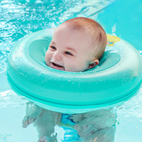 Solid Baby Swimming Neck Ring Baby Neck Float Free Inflatable Piscina Swim Trainer Infant Neck Float Baby Swimming Accessories