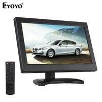 EYOYOZXD11.6 монитор 1366x768 ЖК дисплей Экран Дисплей с ПК, AV, HDMI, BNC, ТВ Выход встроенные Громкоговорители для CC ТВ портативных ПК DVR