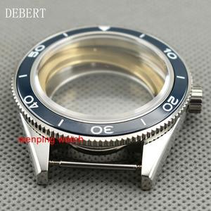 Image 3 - DEBERT coque de montre daffaires à lunette en céramique 41mm, compatible avec Miyota 8205/8215,ETA 2836 DG2813/3804, mouvement mécanique automatique