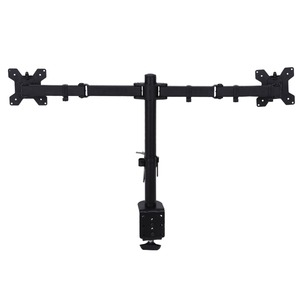 Image 5 - 3 Fully Adjustable Joints and Dual 2 bay Monitor Mount Desk Mount  for 2 Monitors Swiveling BE