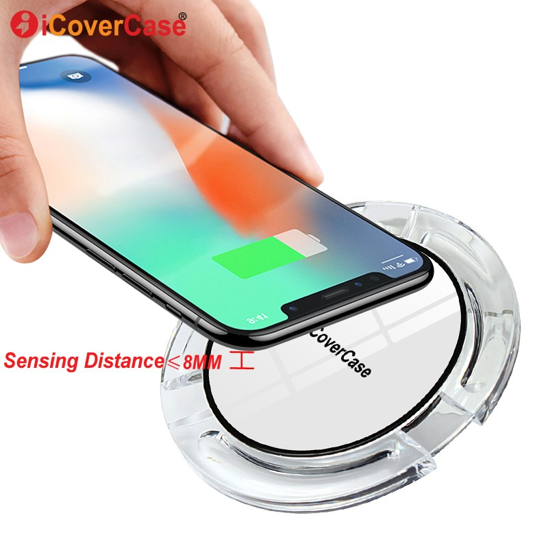 online store bfdfe 1ed7c Wireless Charger Charging Pad for Samsung Galaxy A8 2018 QI Receiver  Wireless Charger Case For Samsung A8+ 2018 Phone Accessory