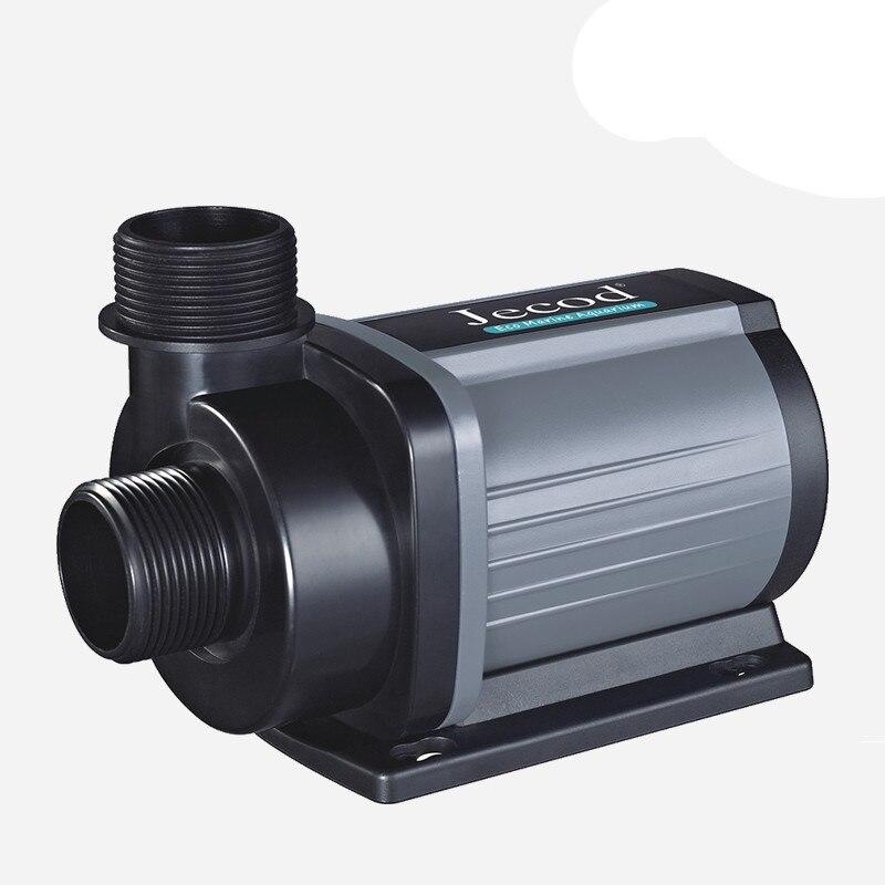 JEBAO/JECOD DCS2000-12000 pompe à fréquence Variable Aquarium pompe Submersible débit réglable Ultra-silencieux 110-220