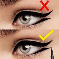 Delineador de ojos FOCALLURE maquillaje lápiz de larga duración impermeable Color negro delineador de ojos Gel pinceis de maquiagem Ojo de calidad