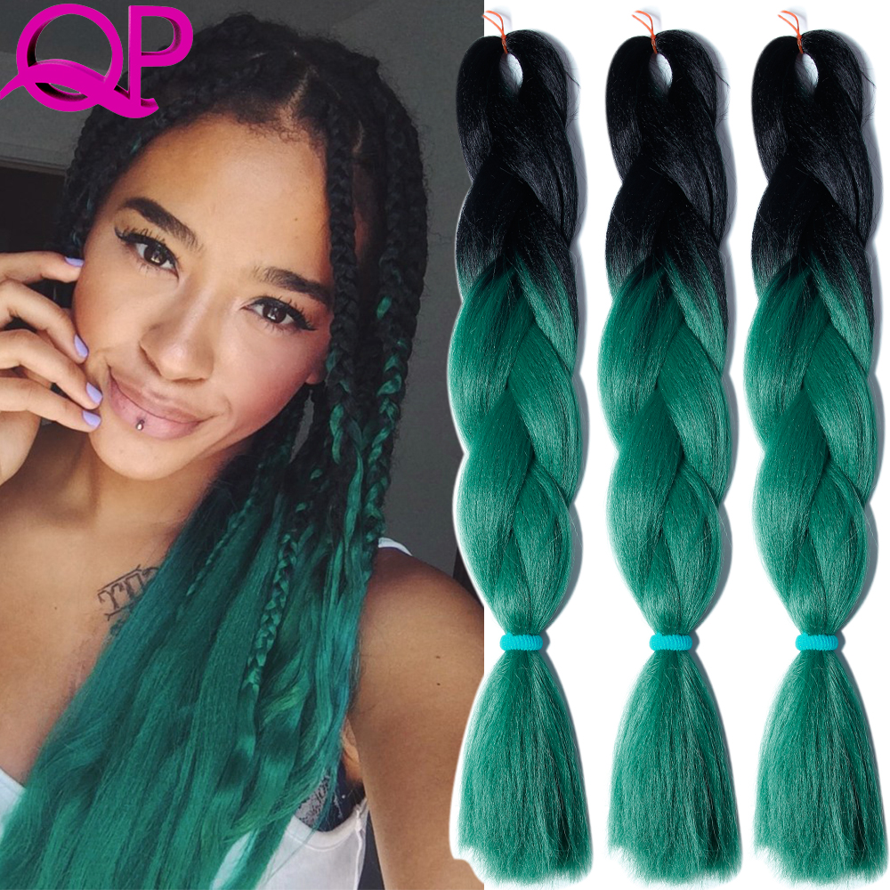two tone ombre