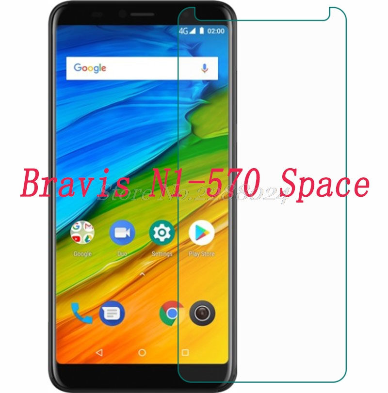 Купить Смартфон закаленное стекло 9h для Bravis N1-570 Space 5,72