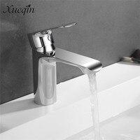 1 Set Mrosaa Basin Mixer Faucet Chrome Sink Tap Bathroom Faucet Deck Mounted Vanity Hot Cold
