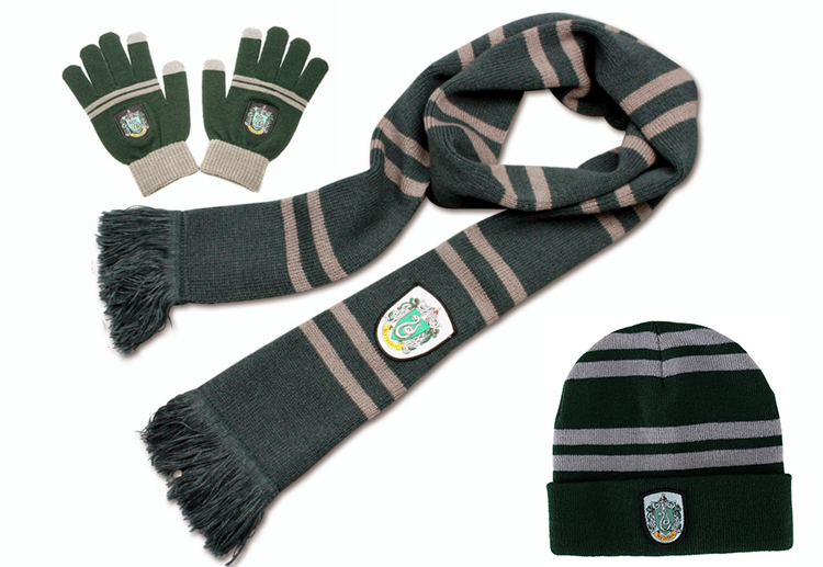 Potter Scarf Scarves Gryffindor/Slytherin/Hufflepuff/Ravenclaw Scarf Harry's Scarves Cosplay Costumes Halloween Gift