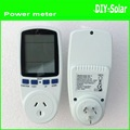 Australian  Plug Power Meter Energy Watt Amps Volt Electricity Usage Monitor Analyzer