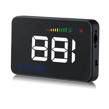 OBD Digital Car Speedometer A500 Onboard Computer Head Up Display HUD Accessories OBD2 Car Windshield Projector Automobile