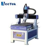 AccTek cnc router 6040 6090 6012 1212 mini wood cnc cutting machine for pcb pvc wood acrylic