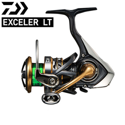 Oryginalny 2018 nowy Daiwa Exceler LT Spinning wędkarstwo reel1000D 2000D 2500 3000D C 4000D C 5000D C w Kołowrotki od Sport i rozrywka na
