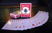 Svengali cartão de jogo atom deck-adereço mágico, acessórios mágicos, mentalismo, adereços mágicos satge, truques mágicos, gimmick