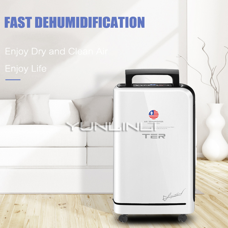 Dehumidifier Household 10L/day Moisture Absorbing Machine Clothes Dryer &Air Purification Drying Machine For Home Using T-CS10 dmwd electric cloth dryer mini moisture absorbing air dehumidifier household spiral garment warm wind clothes drying machine eu