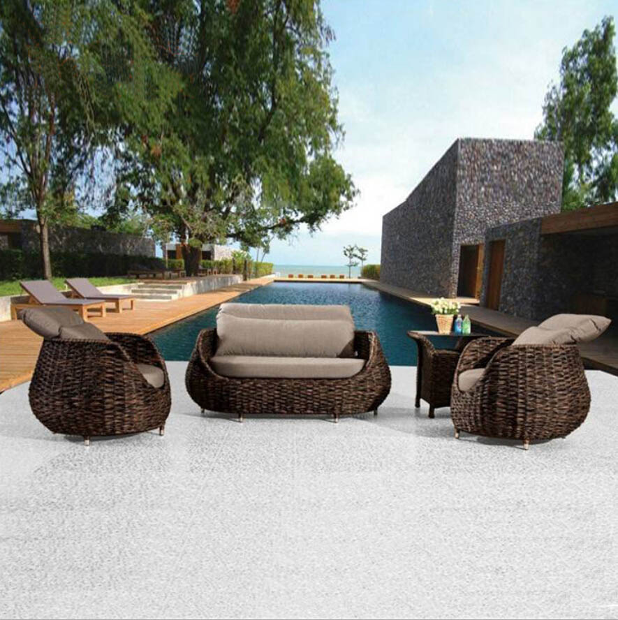 Webetop outdoor rattan furniture set garden furniture new for Outdoor garden set