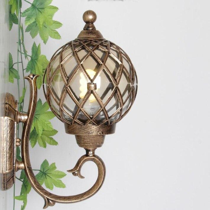 Наружное освещение, настенный светильник, бра Arandelas De Parede Exter Aplique Pared Exterior водонепроницаемый ретро Luz