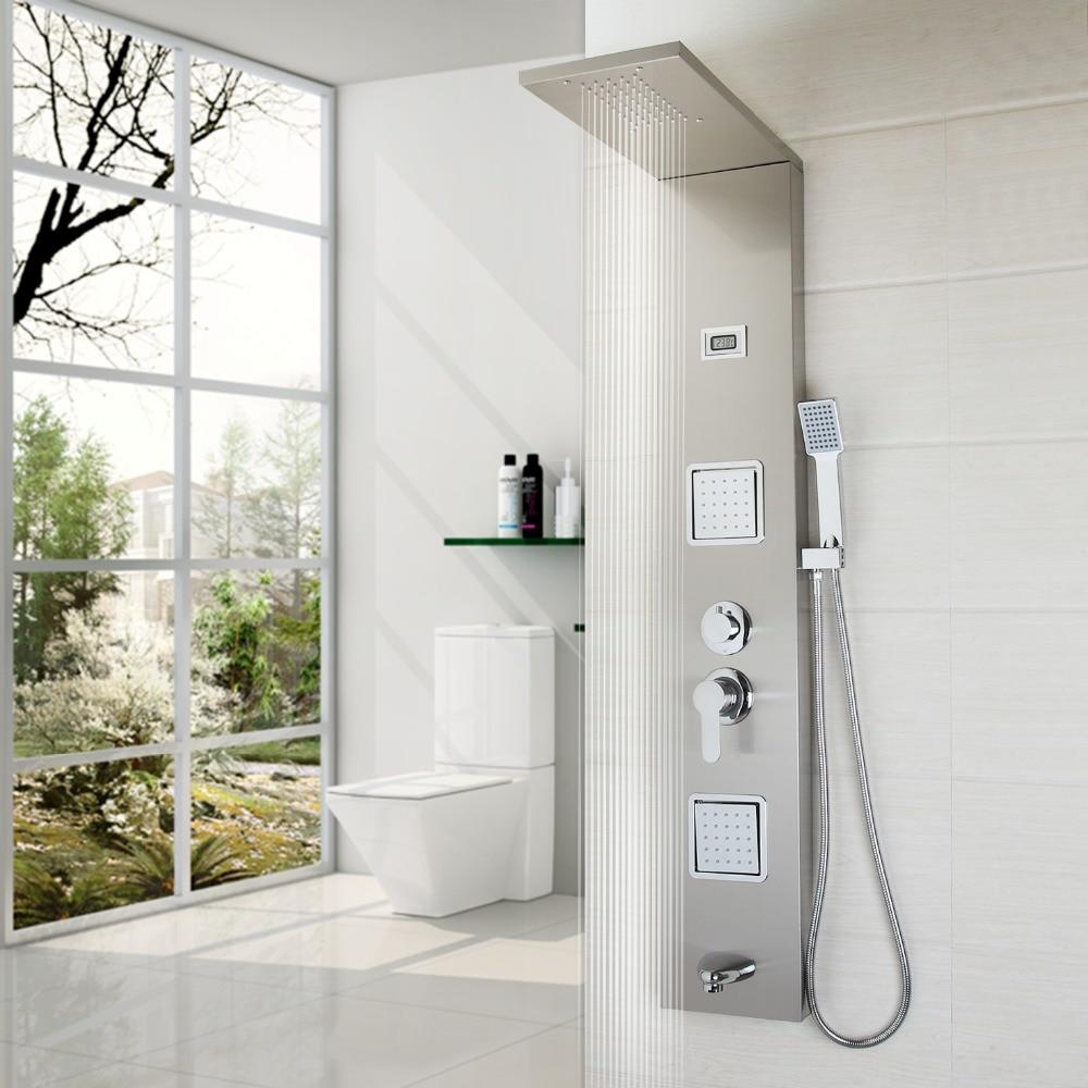 Bathroom Fashion Luxury Shower Column Shower Panel Hand