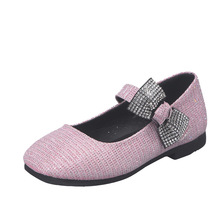 Spring Autumn Childrens bling Girls Princess Shoes Kids Dance For Wedding And Party chaussure fille 4 5 6 7 8 9-14T