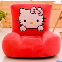 Mini Cartoon Home Sponge Children's Sofa Baby One Seat Chair Hello Kitty Birthday Baby Furniture for Kids Gift Bean Bag