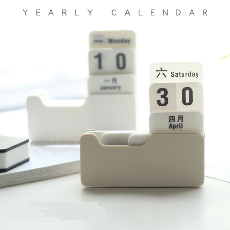 Calendar New Vintage Style Pp Perpetual Calendar Diy Calendar Art Crafts Home Office School Desk Decoration Gifts Sale Price