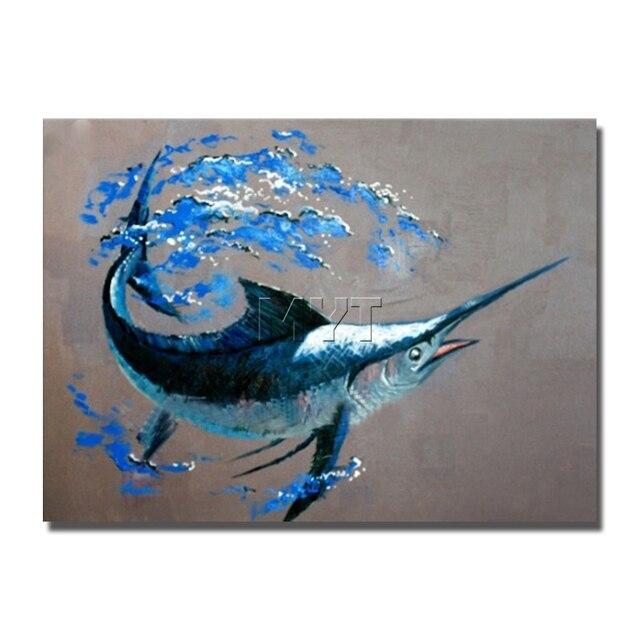 Fisch Image Photo Künstler Gemalt Wandbilder Für Wohnzimmer Decor ...