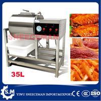 35L Kommerziellen Vakuum Fleisch Salzen Mariniert Maschine hamburger beizen vakuum härtende maschine blähungen mariniert maschine
