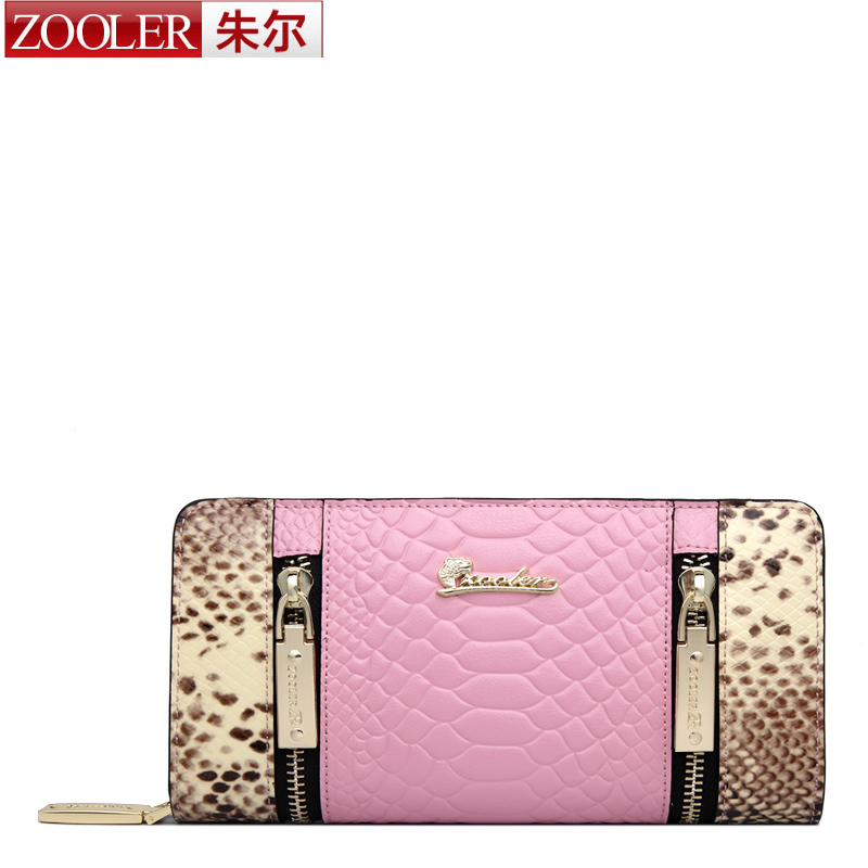 ФОТО ZOOLER brand women leather wallets 2016 new stylish purse Long wallet famous brand 2015 winter new listed coin purses #815