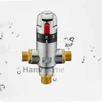 DN15 G1 2 Brass Thermostatic Mixing Valve Adjust The Mixing Water Temperature Thermostatic Mixer For Bidet