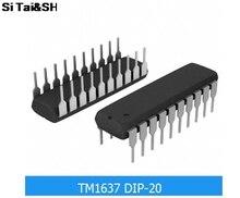 (Si Tai&SH)  TM1637 DIP-20  integrated circuit