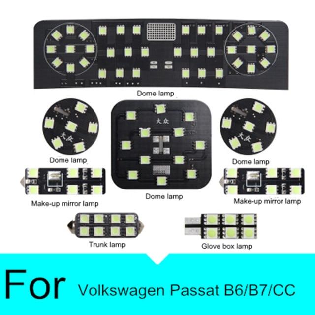 LED Interior Lighting Trunk light LED Read Room Dome Lamp for Volkswagen Vw Passat CC B6 B7
