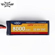 1pcs ACEHE 22.8V 8000mAh 35C 6S1P 182.4Wh with XT60 Plug High Voltage Lipo Battery