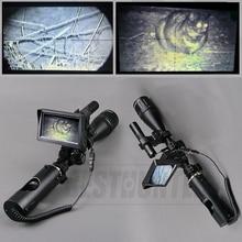 Тактический 6-24×50 охотничьи прицелы оптика зрение ночного видения Riflescope Тактический Цифровой Инфракрасный с батареей монитор фонарик