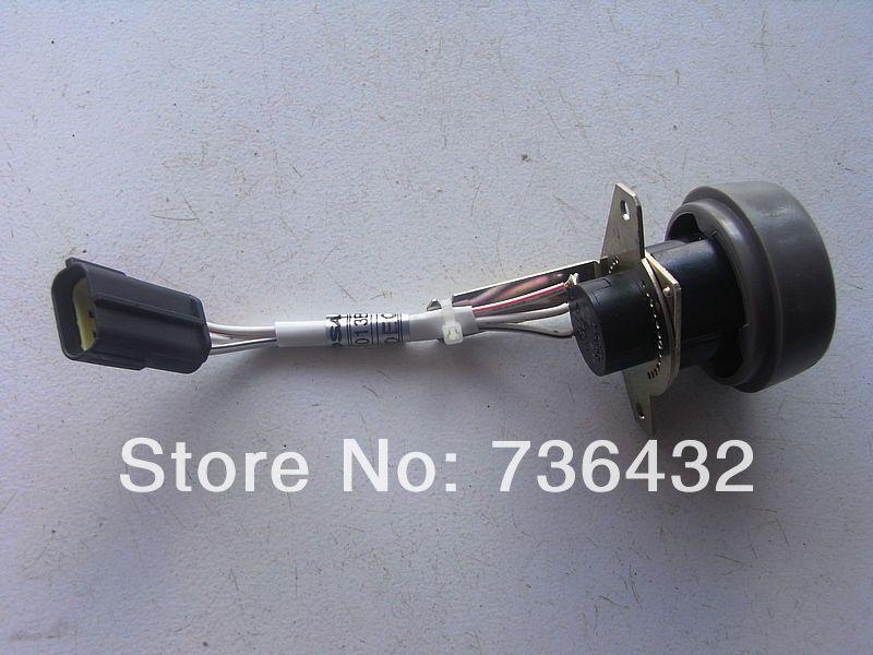 Livraison gratuite! Grossiste Daewoo DH220-5 bouton de commande de manette des gaz de pelle bouton interrupteur appliquer à Doosan pelle DH220/225/300-5