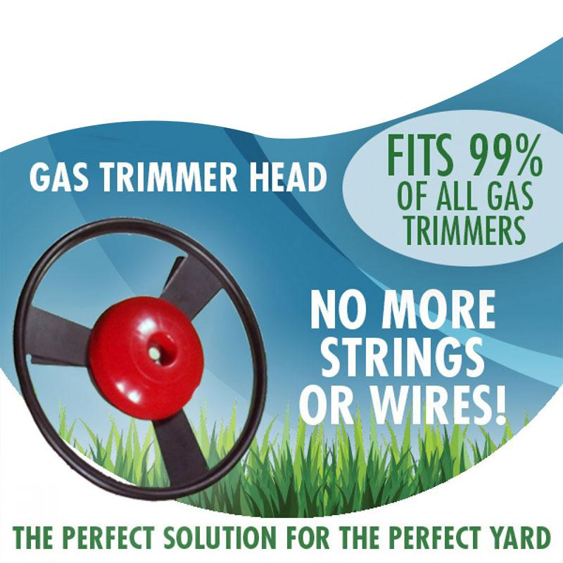 Solid Steel No String Univerzální plynový vyžínač, kovová - Zahradní nářadí - Fotografie 4