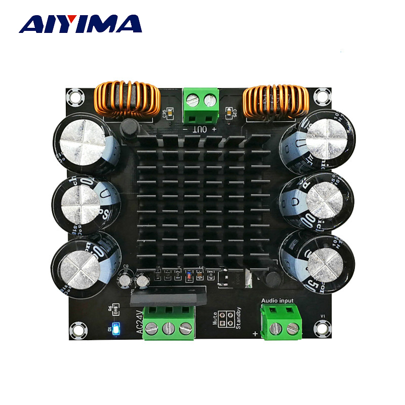Aiyima TDA8954TH Audio Amplifier Board 420W High Power Mono Digital Amplifier AMP For DIY Sound System Speaker Home Theater 320w power amplifier wireless bluetooth 2 1 audio signal digital power sound amp for home office car a918