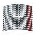 3D Carbon Motorcycle RIM Stripe Wheel Decal Tape Sticker For Suzuki GSXR 750 GSX 750R GSX-750R