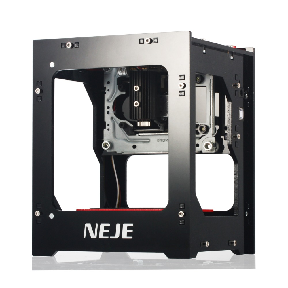 Free shipping NEJE new 3500mw/1500mw/2500mw 445~450nm wood metal laser engraver laser cutter cutting machine DIY
