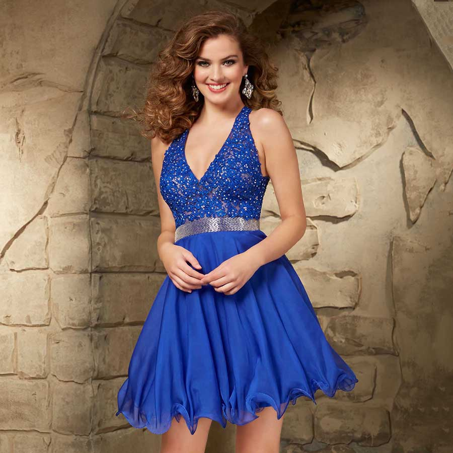 High Quality Short Royal Blue Prom Dresses-Buy Cheap Short Royal ...