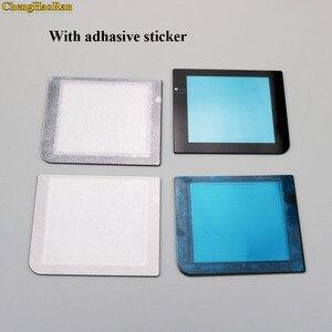 Image 3 - ChengHaoRan 50 adet Gümüş Siyah Gri Altın Plastik Cam Ekran Lens Için GBP Koruyucu Kapak Değiştirme GameBoy Cep
