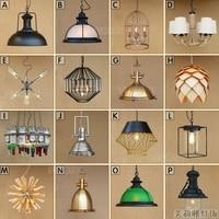 Винтажные шкив подвесные светильники Лофт стиль свет кухня столовая lampara светильники Nordic Ретро Свет паук подвеска лампа